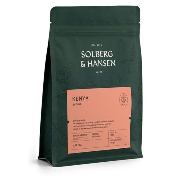 Solberg Hansen – Kaffe Gatugi - Solberg & Hansen, Kaffe, Kokkens Beste