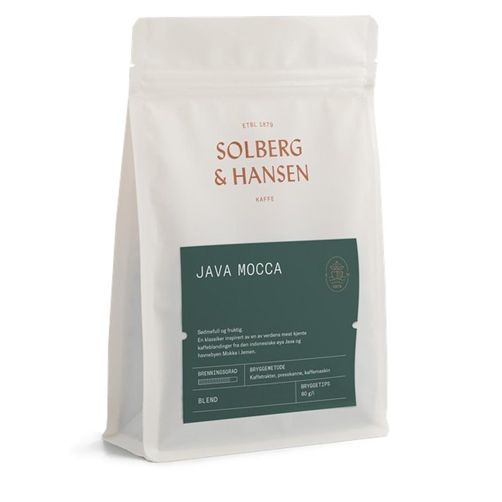 Kaffe Java/Mocca 250g - Solberg & Hansen, Kaffe, Kokkens Beste