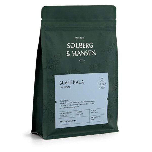 Solberg Hansen – Kaffe Las Minas - Solberg & Hansen, Kaffe, Kokkens Beste