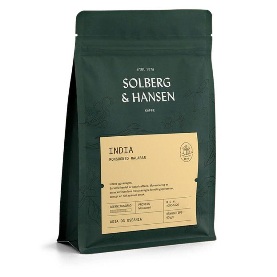 Kaffe Monsooned Malabar 250g India - Solberg & Hansen, Kaffe, Kokkens Beste