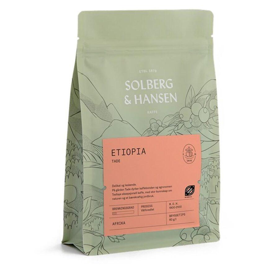 Kaffe Tade 250g Etiopia Økologisk - Solberg & Hansen, Kaffe, Kokkens Beste