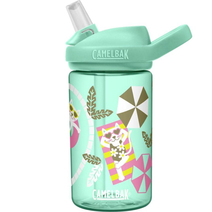 Camelbak Eddy+ Kids Drikkeflaske grønn/multi - Camelbak, Drikkeflasker, Kokkens Beste