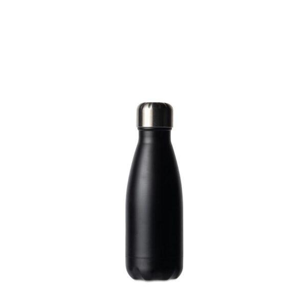 Drikkeflaske Stål sort 0,26l - Sagaform, Drikkeflasker, Kokkens Beste