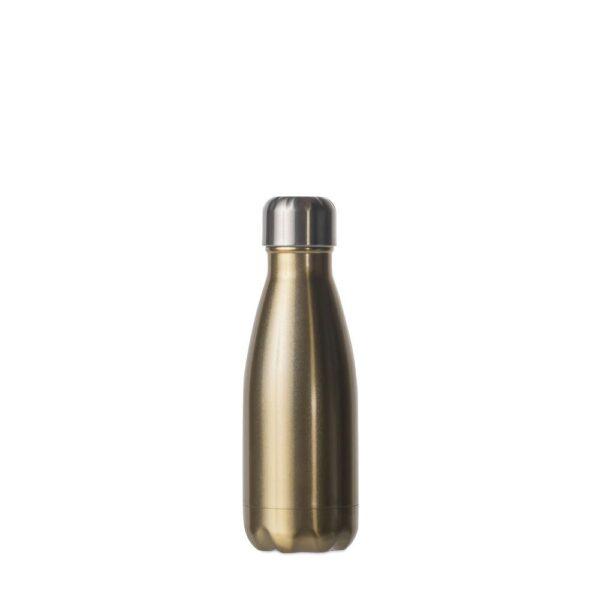 Drikkeflaske Stål gull 0,26l - Sagaform, Drikkeflasker, Kokkens Beste