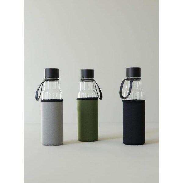 Glassflaske 0,6l grønn - Sagaform, Drikkeflasker, Kokkens Beste