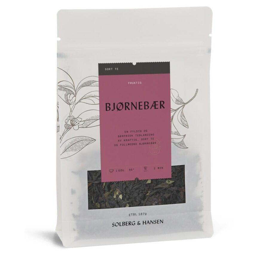 Solberg Hansen – Bjørnebær Te - Solberg & Hansen, Te, Kokkens Beste