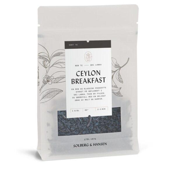 Solberg Hansen – Ceylon breakfast Te - Solberg & Hansen, Te, Kokkens Beste