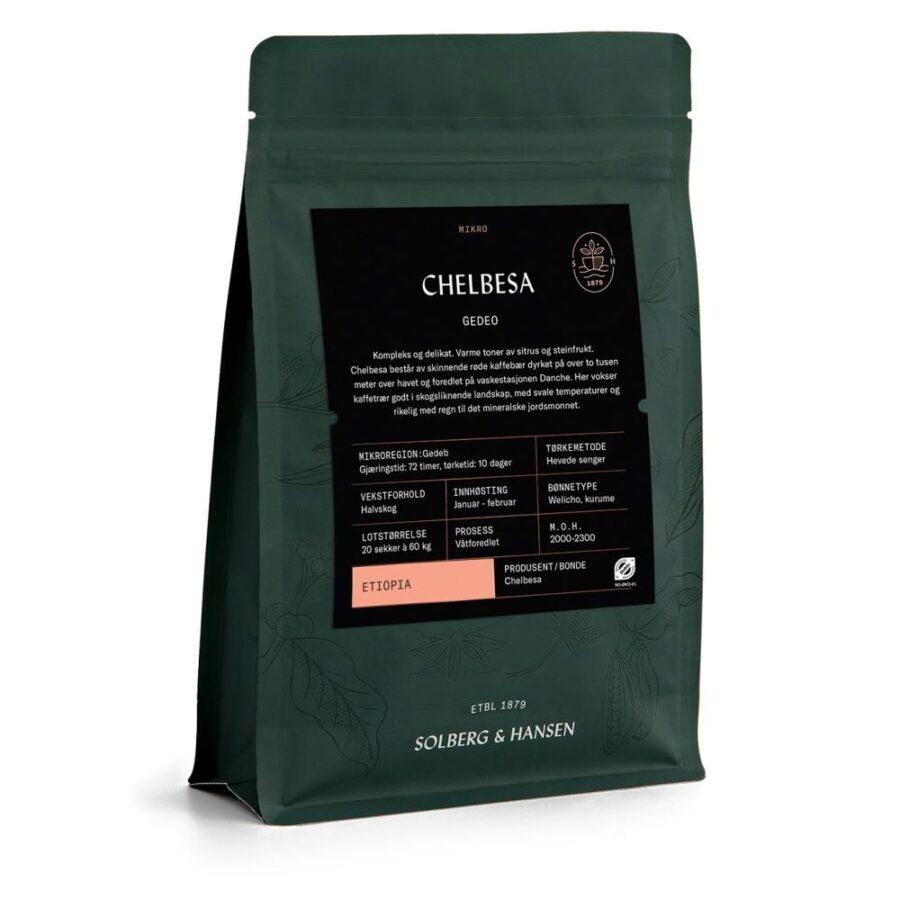 Solberg Hansen – Kaffe Chelbesa - Solberg & Hansen, Kaffe, Kokkens Beste