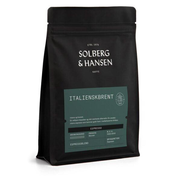 Solberg Hansen – Italienskbrent (Espresso) - Solberg & Hansen, Kaffe, Kokkens Beste