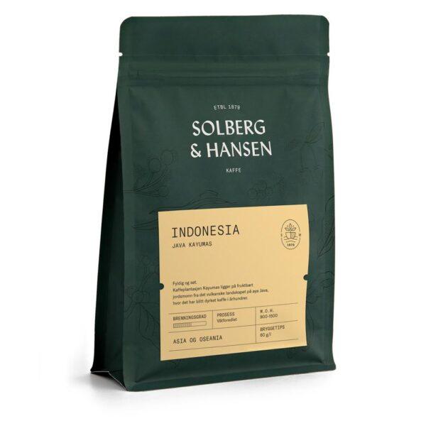 Solberg Hansen – Kaffe Java Kayumas - Solberg & Hansen, Kaffe, Kokkens Beste
