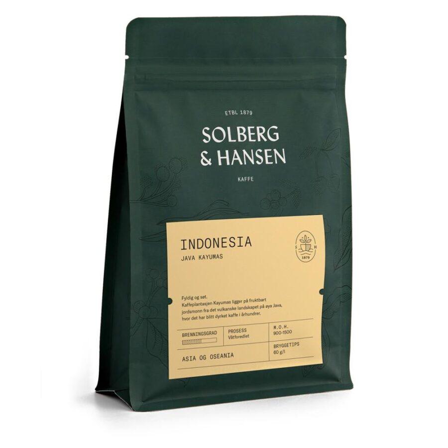 Kaffe Java Kayumas – Indonesia 250g - Solberg & Hansen, Kaffe, Kokkens Beste