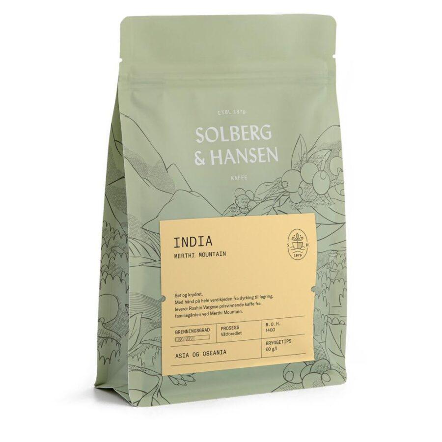 Kaffe Merthi Mountain – India 250g - Solberg & Hansen, Kaffe, Kokkens Beste
