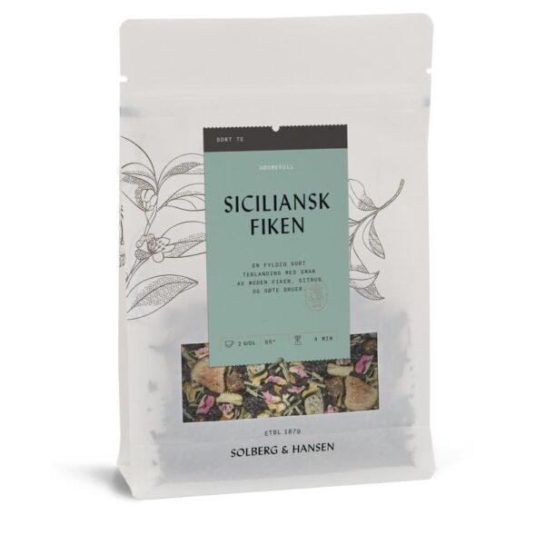 Solberg Hansen – Siciliansk fiken Te - Solberg & Hansen, Te, Kokkens Beste