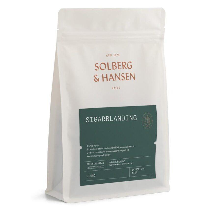 Kaffe Sigarblanding 250g - Solberg & Hansen, Kaffe, Kokkens Beste