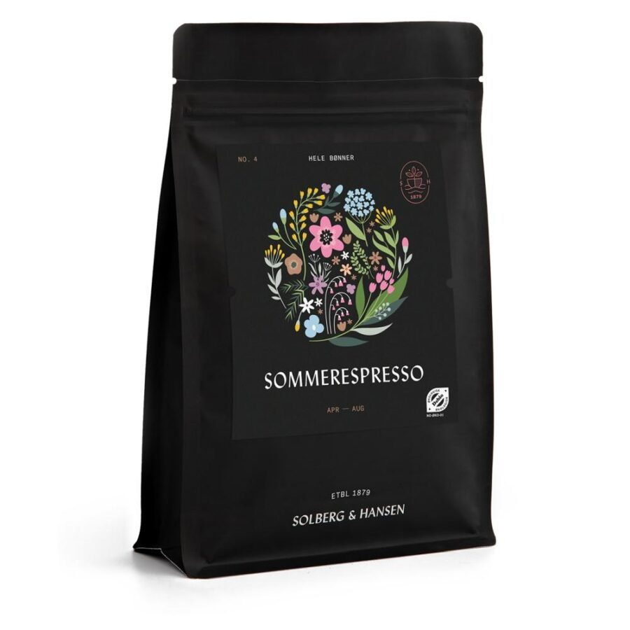Kaffe Sommerespresso 250g - Solberg & Hansen, Kaffe, Kokkens Beste