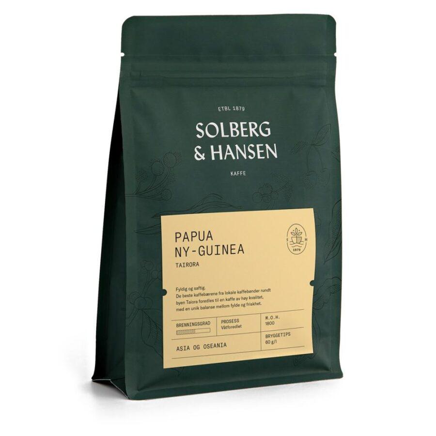 Kaffe Tairora –  Papua Ny-Guinea 250g - Solberg & Hansen, Kaffe, Kokkens Beste