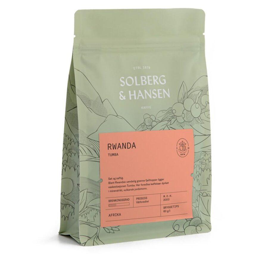 Kaffe Tumba –  Rwanda 250g - Solberg & Hansen, Kaffe, Kokkens Beste