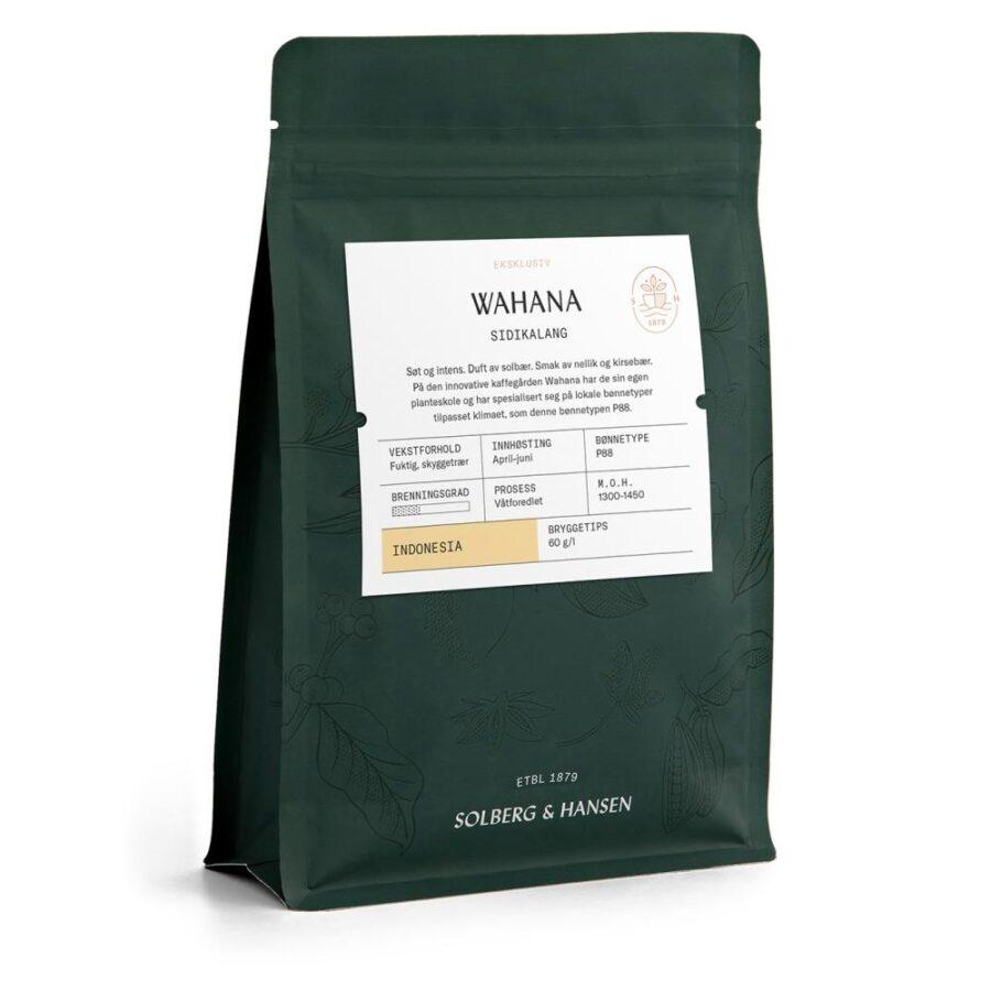 Solberg Hansen – Kaffe Wahana - Solberg & Hansen, Kaffe, Kokkens Beste