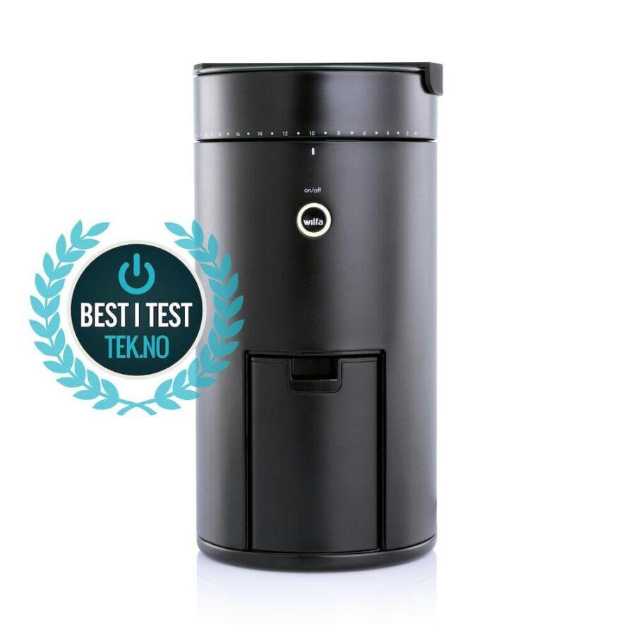 Kaffekvern med vekt Sort uniform - Wilfa, Elektrisk, Kokkens Beste