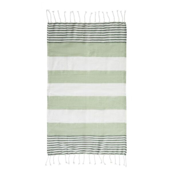 Sagaform – Hamam badelaken/bordduk grønn ECO - Sagaform, Pledd, Kokkens Beste