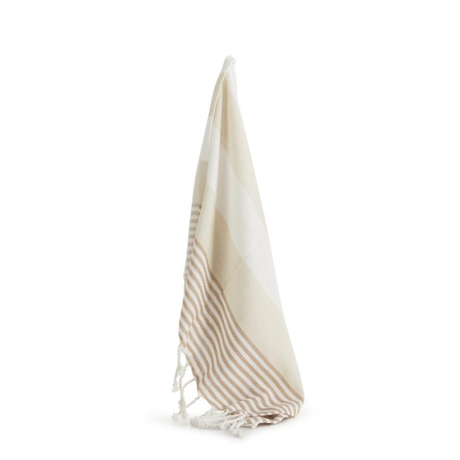 Sagaform – Hamam lite badehåndkle ECO beige - Sagaform, Pledd, Kokkens Beste